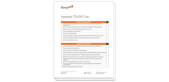 interview process checklist There are 101 reasons why we change jobs, and these sample exit interview questions and answers will guide you through the moral and emotional trials and tribulations.